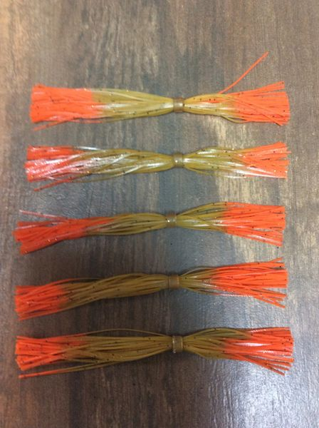 "5"" Pumpkin Pepper,Orange Tip Skirts 5 Pack"