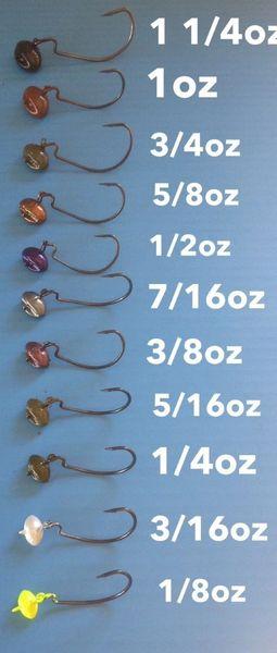 Rock & Roll Swing Jigs 1/8oz- 1 1/4oz