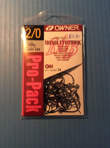 Owner 5377 Mosquito Hook pro Packs