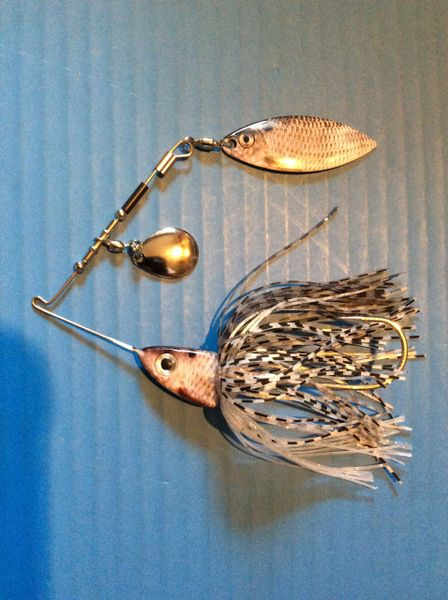 1/2oz Real Shad Quick Release Spinnerbait