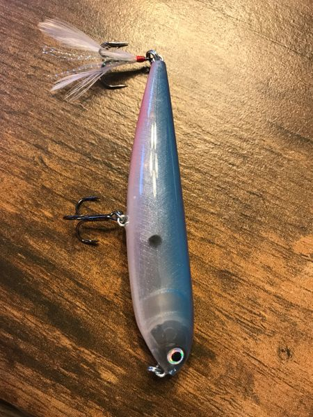 "Zrs Custom Lures Topwater Sammy 4.5"" ""So Cal Special"""