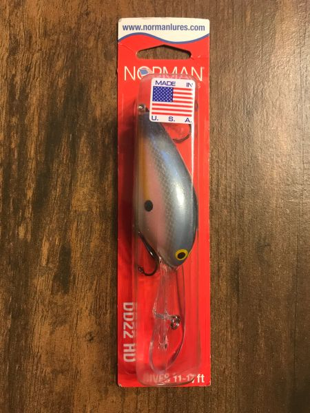 "Norman DD22 HD Heavy Diver 1oz ""Pink SX Shad"""