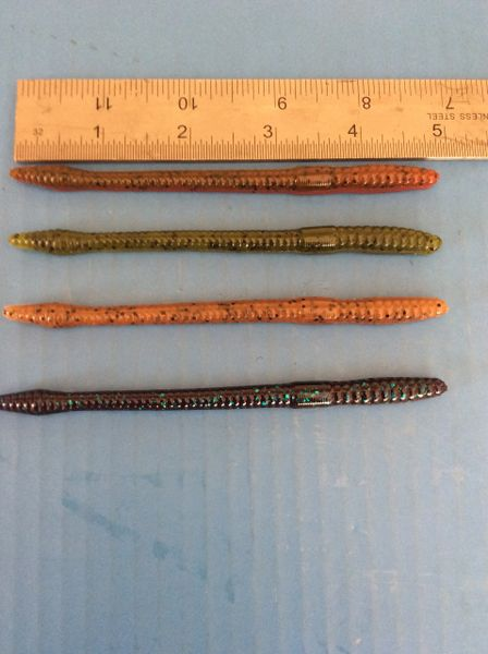"""4.75"""" SWCT Finesse Worms 10 Pack"""