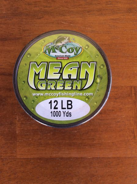 McCoy Mean Green 1000yd Bulk spool