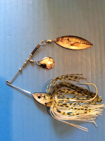 1/2oz Baby Bass Quick Release Spinnerbait