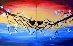 """V-DAY! """"Bird Love"""" Thurs - Feb 14   6:30"""