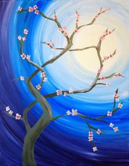 """Cherry Blossom Moon"" Thurs - March 7 