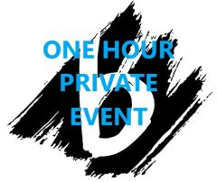 ONE HOUR Private Event Deposit