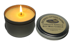 100 % Soy Wax Candle in Tin