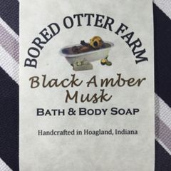Black Amber Musk Soap