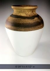 Black and Ochre Vase