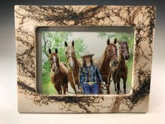Horse Hair picture frame