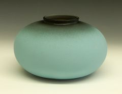 Turquoise Round Vase