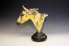 Palomino Horse Bust