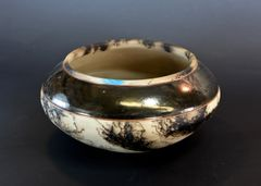 Horse Hair Bowl with Turquoise