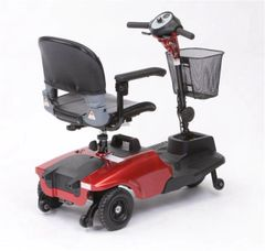 Red Bobcat 3 Wheel Compact Scooter - s38600