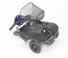 Blue Bobcat 4 Wheel Compact Scooter - s38651