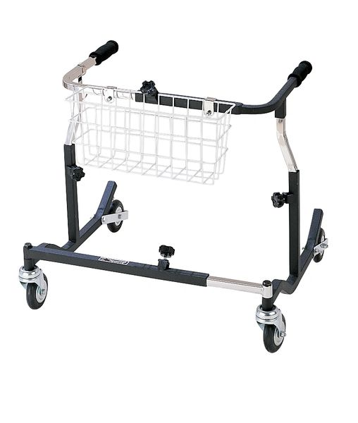 Pediatric Black Adjustable Width Anterior Safety Roller - pe 1000 xl