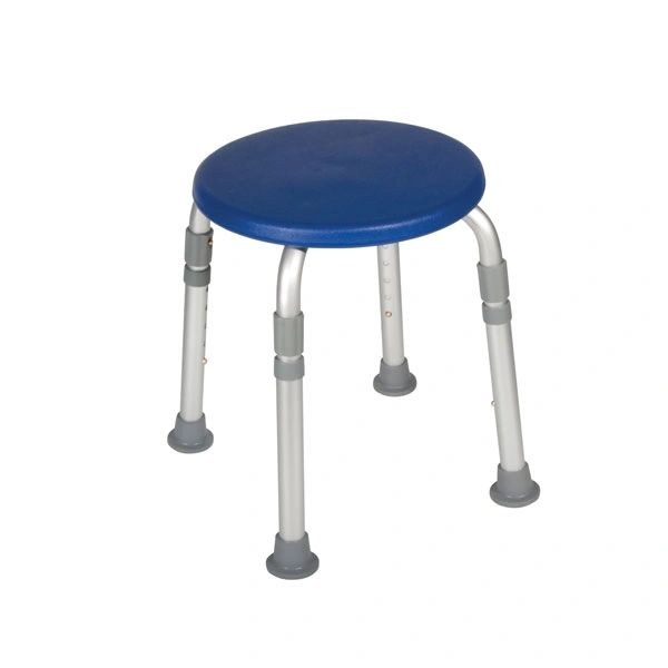 Adjustable Height Blue Bath Stool - 12004kdrb-1