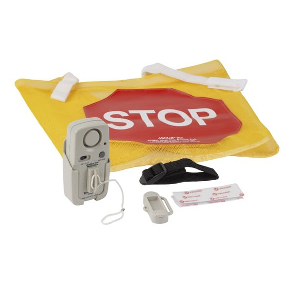 High Visibility Door Alarm Banner with Magnetically Activated Alarm System - 13098