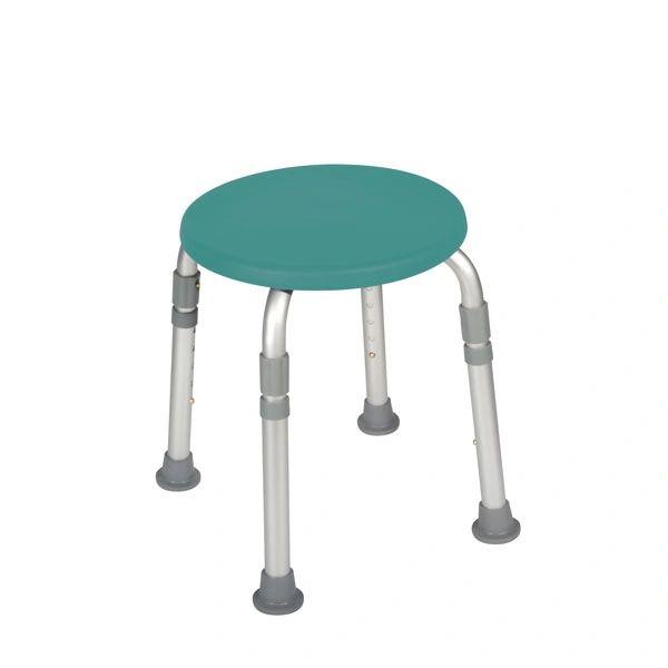 Adjustable Height Teal Bath Stool - 12004kdrt-1