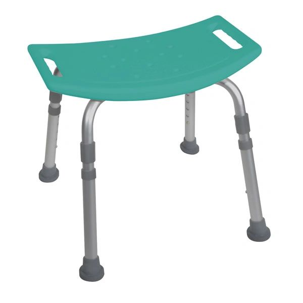 Teal Bath Bench without Back - 12203kdrt-1