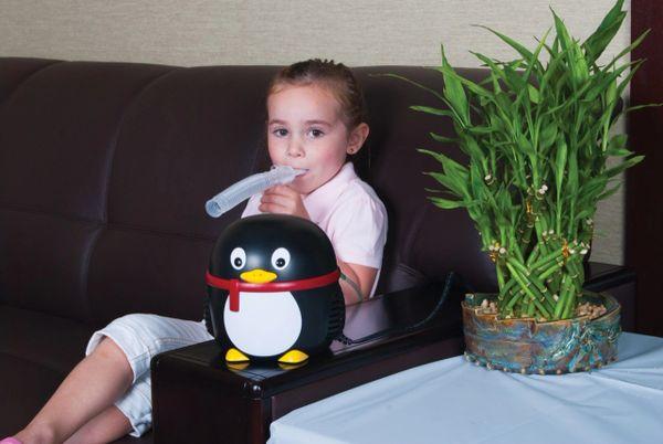Pediatric Penguin Nebulizer Compressor with Case - 18090-pgkit