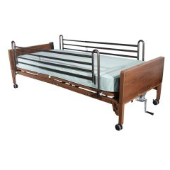 Delta Ultra Light Full Electric Bed with Full Rails - 15033bv-fr