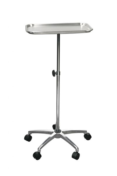 """Mayo Instrument Stand with Mobile 5"""" Caster Base - 13071"""