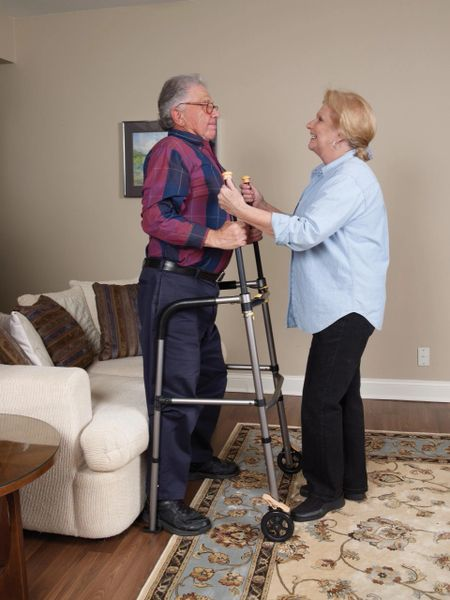 Lift Walker with Retractable Stand Assist Bars - 10277lw
