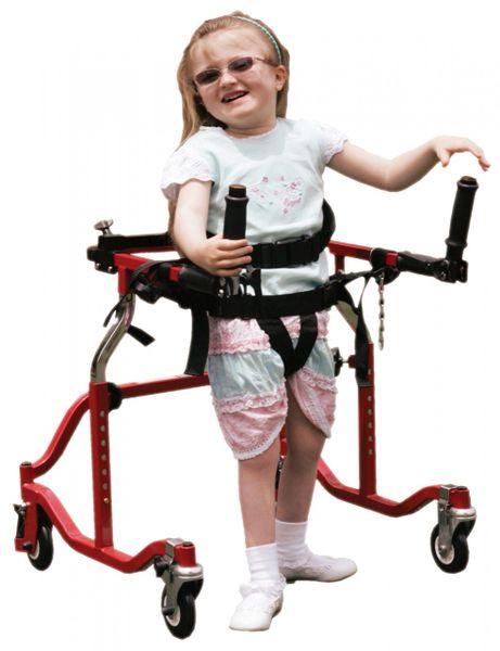 Pediatric Luminator Red Posterior Gait Trainer - lt 3100