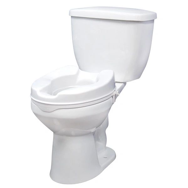 Raised Toilet Seat with Lock - 12062