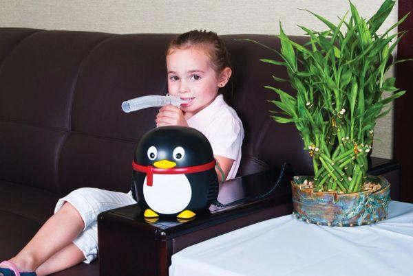 Pediatric Penguin Nebulizer Compressor - 18090-pg