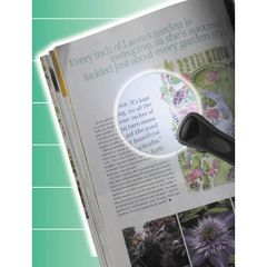 Glass Magnifier Reading Lens with LED Light - rtl1164