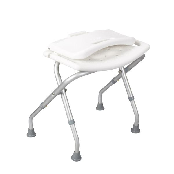 Folding Bath Bench with Back - 12487