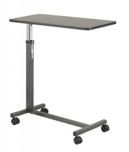 Non Tilt Top Silver Vein Overbed Table - 13067