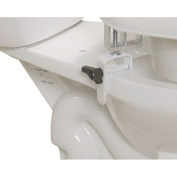 Padded Raised Toilet Seat Riser - 12030