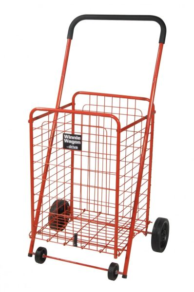 Red Winnie Wagon All Purpose Shopping Utility Cart - 605r