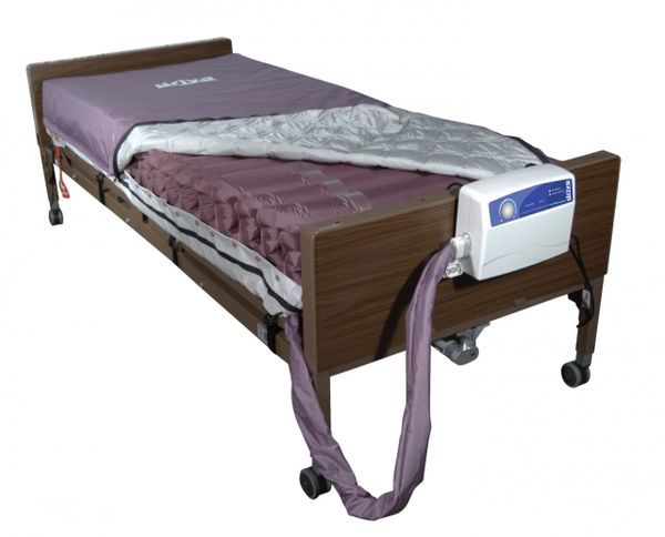 Med Aire Low Air Loss Mattress Replacement System with Alternating Pressure - 14027