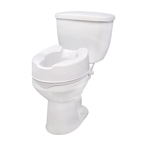 Raised Toilet Seat with Lock - 12066