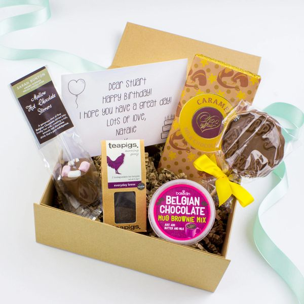 Happy birthday gift box sweet bella gifts happy birthday gift box negle Image collections
