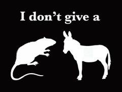 164. I Don't Give a Rats Ass T-Shirt