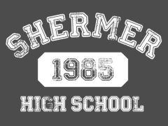 010. Shermer High School 80's Movie T-Shirt