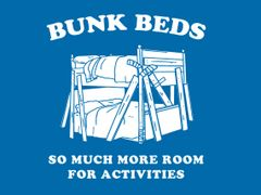 014. Bunk Beds T-Shirt