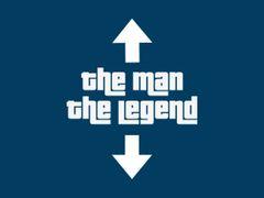 166. The Man The Legend T-Shirt