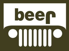 007. Jeep Beer T-Shirt