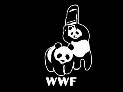 016. Wrestling Panda Bears T-Shirt
