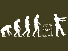 142. Zombie Evolution T-Shirt