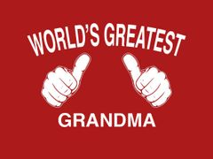 101. Worlds Greatest Grandma T-Shirt