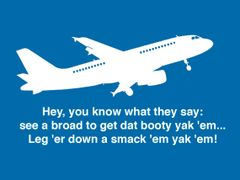 088. Airplane Funny Movie Quote T-Shirt